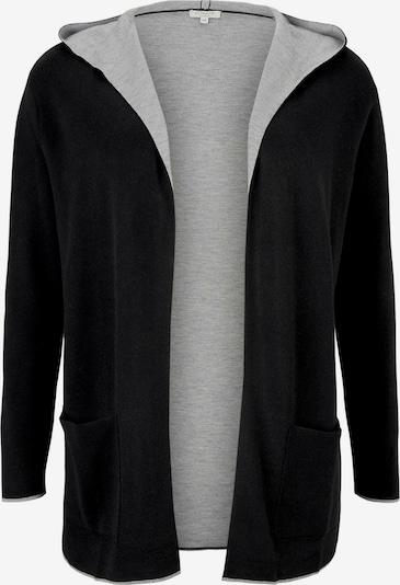 MY TRUE ME Cardigan en gris clair / noir, Vue avec produit