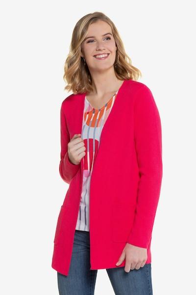 Gina Laura Strickjacke in pink, Modelansicht