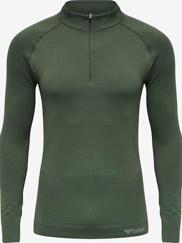 Sweat de sport Hummel en vert