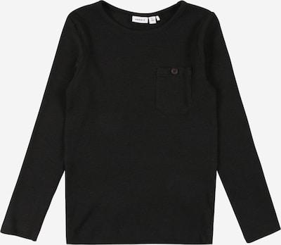 NAME IT Shirt 'RASMUS' in schwarz, Produktansicht