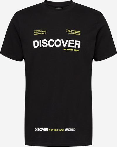 Redefined Rebel Тениска 'Sonny' в синьо / жълто / черно / бяло, Преглед на продукта