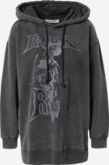 Sofie Schnoor Sweatshirt in rauchgrau / schwarzmeliert, Produktansicht