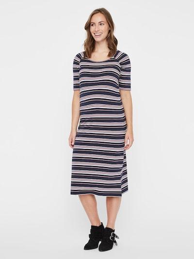 MAMALICIOUS Kleid in marine / mischfarben, Modelansicht