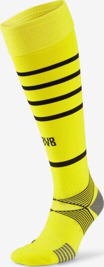 PUMA Sportsokken 'BVB Replica' in de kleur Geel / Grijs / Zwart, Productweergave