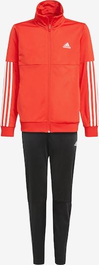 ADIDAS PERFORMANCE Trainingsanzug in orangerot / schwarz, Produktansicht