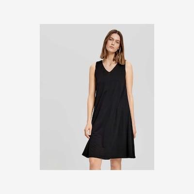 OPUS Sommerkleid in schwarz, Modelansicht