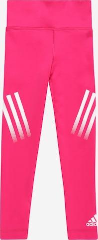 Pantaloni sport 'Believe This' de la ADIDAS PERFORMANCE pe roz