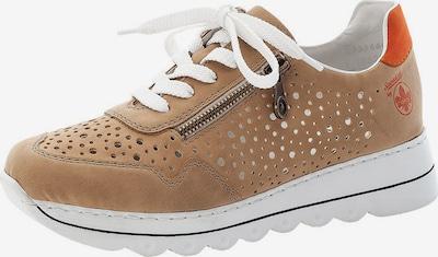 RIEKER Sneaker in hellbraun / orange, Produktansicht