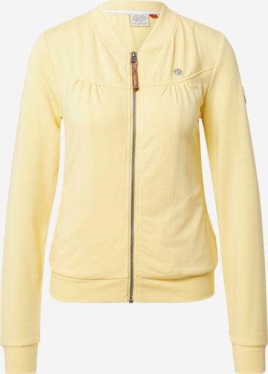 Ragwear Sweatjacke 'KENIA' in gelb, Produktansicht
