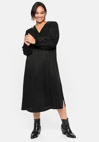 SHEEGO Kleid - Čierna