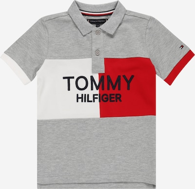 TOMMY HILFIGER Shirt in de kleur Nachtblauw / Grijs gemêleerd / Rood / Wit, Productweergave