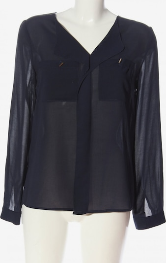 Vera & Lucy Transparenz-Bluse in M in blau, Produktansicht