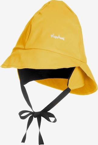 PLAYSHOES Regenmütze in Gelb
