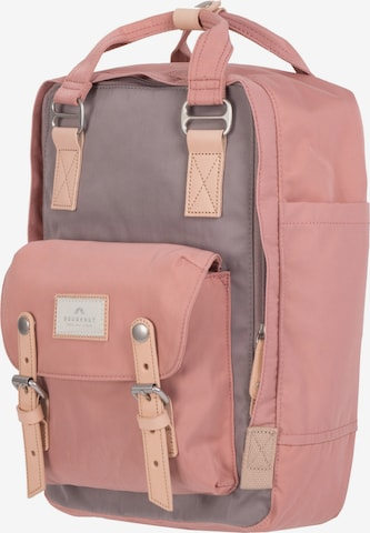 Doughnut Backpack 'Macaroon' in Pink