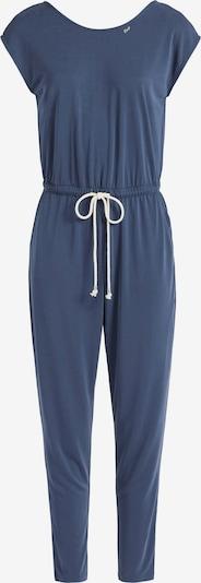 khujo Jumpsuit 'Ramone' in de kleur Blauw / Wit, Productweergave
