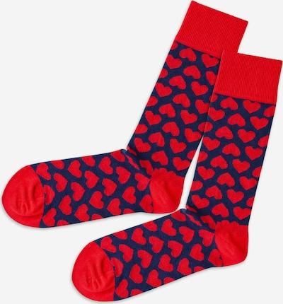 DillySocks Socken in navy / rot, Produktansicht