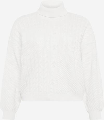 PIECES Pullover 'Summer' in weiß, Produktansicht
