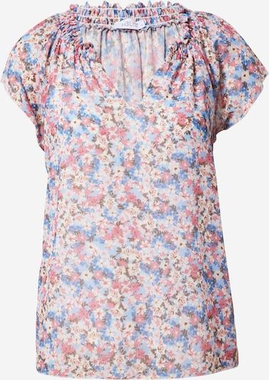 Hailys Blusa 'Monica' en beige / azul cielo / azul claro / rosé, Vista del producto