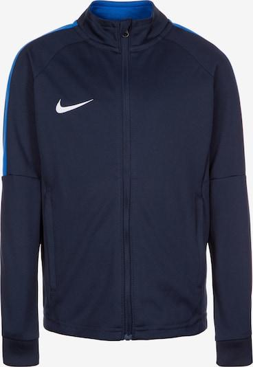 NIKE Trainingsjacke 'Dry Academy 18' in blau / dunkelblau / weiß, Produktansicht