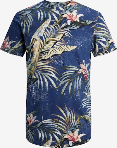 Jack & Jones Plus Shirt 'POP' in de kleur Blauw / Gemengde kleuren, Productweergave