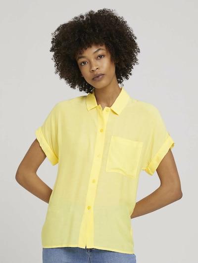 MINE TO FIVE Bluse in hellgelb, Modelansicht