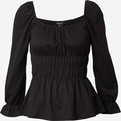 NEW LOOK T-shirt 'PEPLUM' en noir, Vue avec produit