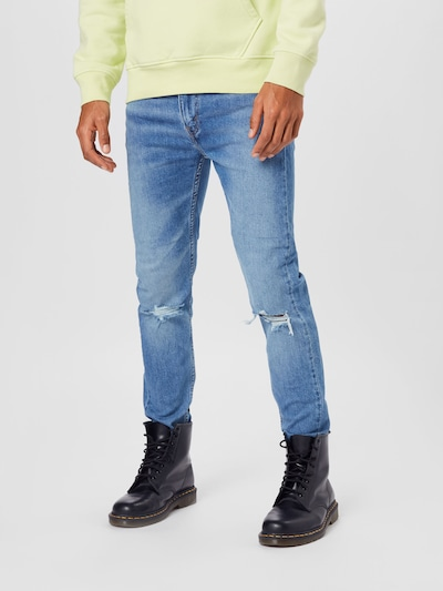 LEVI'S Jeans in blue denim, View model