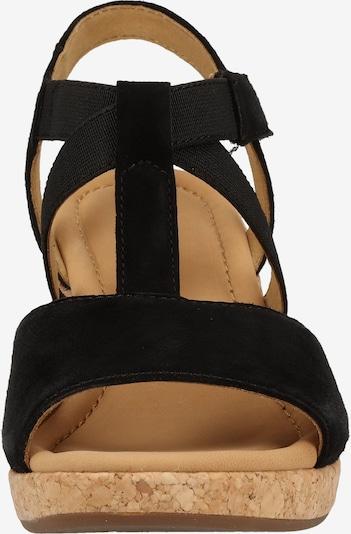 GABOR Sandalen met riem in Zwart ZUynhnMW