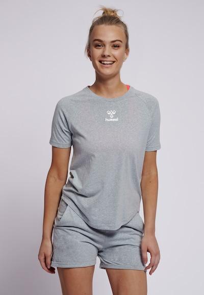 Hummel T-shirt S/S in grau: Frontalansicht