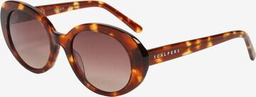 Scalpers Sonnenbrille in Braun