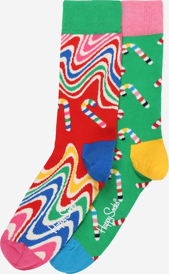 Happy Socks Socken 'Psychedelic Candy Cane ' in mischfarben, Produktansicht