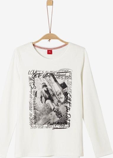 s.Oliver Shirt in wollweiß, Produktansicht