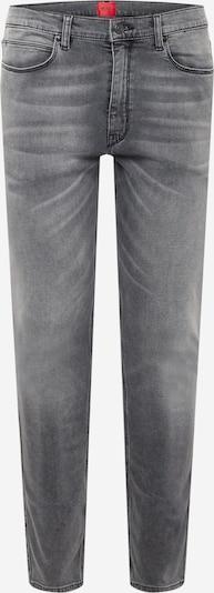 HUGO Jean en gris denim, Vue avec produit