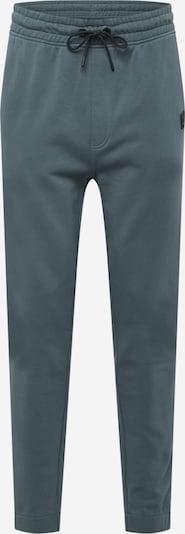 BOSS Casual Broek 'Skyman' in de kleur Groen / Zwart, Productweergave
