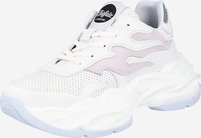 Sneaker bassa 'EYZA' Buffalo London di colore lilla pastello / bianco, Visualizzazione prodotti