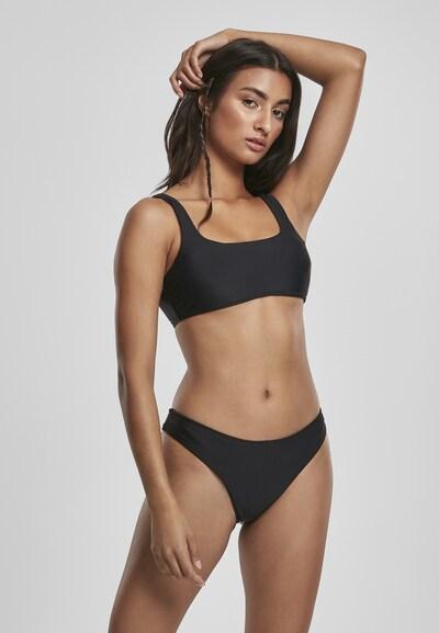 Urban Classics Bikini en noir, Vue avec modèle