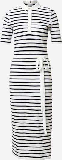 TOMMY HILFIGER Obleka | nočno modra / bela barva, Prikaz izdelka