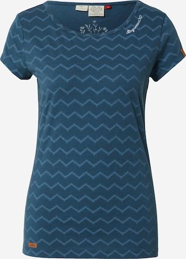 Ragwear T-Shirt 'Mint Chevron' in marine / rauchblau, Produktansicht