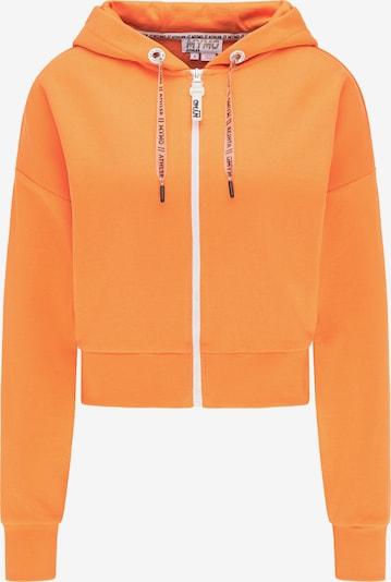 myMo ATHLSR Sweatvest in de kleur Sinaasappel, Productweergave