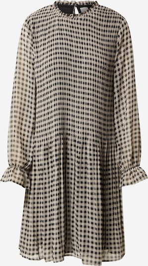 ICHI Kleid in beige / schwarz, Produktansicht