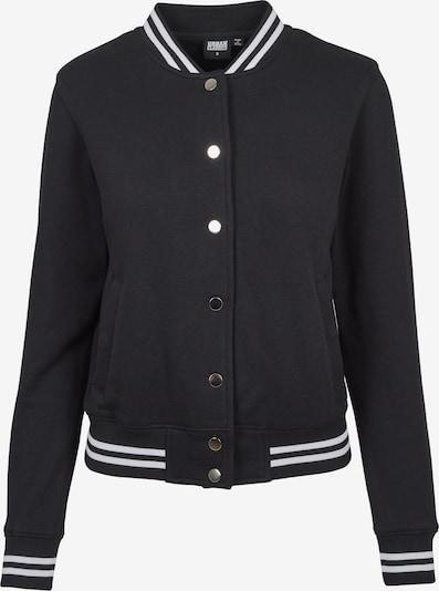 Urban Classics Zip-Up Hoodie in Black, Item view
