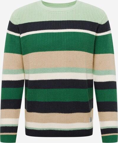 Pulover 'EDWARD' Pepe Jeans pe bej / navy / mentă / verde închis / alb, Vizualizare produs