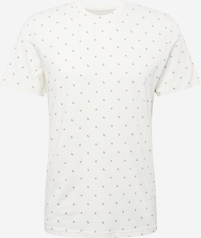 TOM TAILOR Tričko - tmavomodrá / oranžová / biela, Produkt
