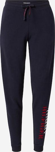 TOMMY HILFIGER Hose in dunkelblau / rot / weiß, Produktansicht