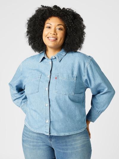 Levi's® Plus Blouse 'ZOEY' in Light blue, View model