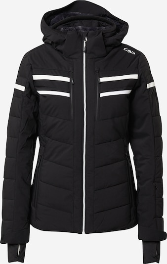 CMP Outdoor jacket in Black / White, Item view