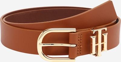 TOMMY HILFIGER Cinturón en cognac / oro, Vista del producto