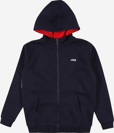 FILA Sweat jacket 'NORMA' in cobalt blue / red / white, Item view