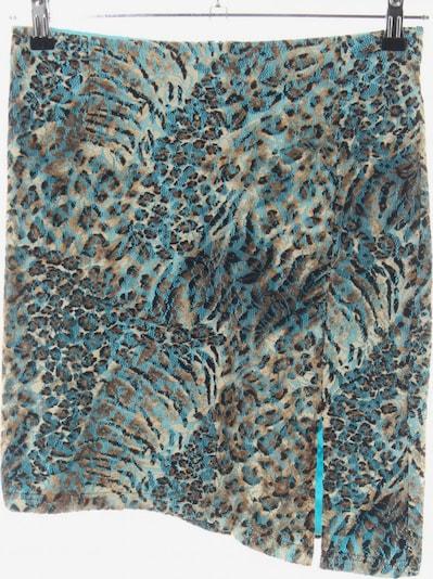 Carlo Colucci Spitzenrock in S in türkis / bronze / wollweiß, Produktansicht