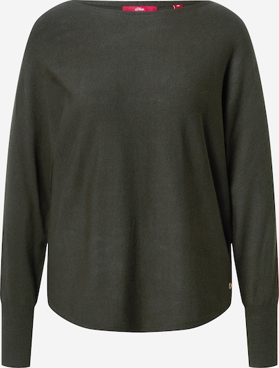s.Oliver Pullover in khaki, Produktansicht
